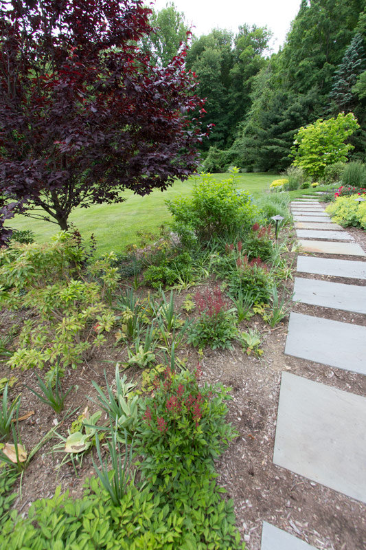 red-front-bed-before-timeless-gardens-ny